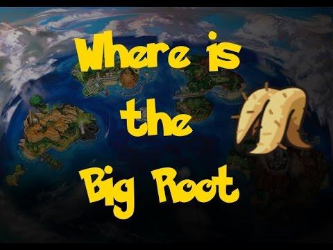 Where Is: The Big Root (Pokemon Sun/Moon)