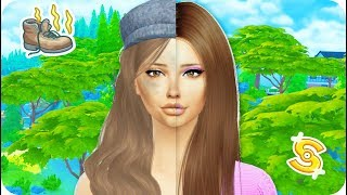 POOR TO RICH | THE SIMS 4 | BIRTH TO DEATH STYLE