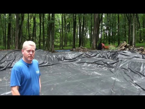 Large Koi Pond Renovation Project in Frenchtown, NJ
