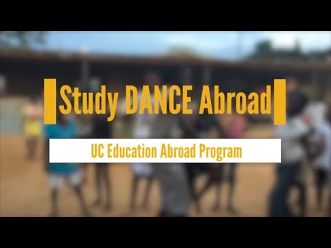 Study Abroad for Dance Majors!
