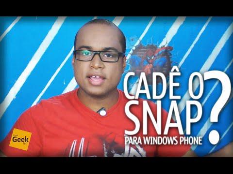 O SnapChat OpenSource para Windows Phone/Windows 10 Mobile