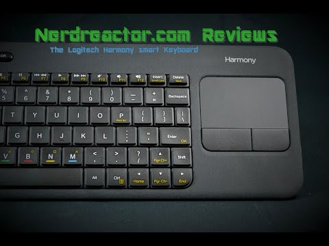 The Logitech Harmony Smart Keyboard Review