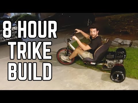 Baby Seat Drift Trike Build!