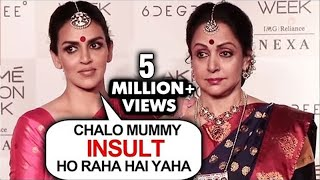 Lakme Fashion Week | Esha Deol Hema Malini INSULTED, WALKS OUT Of Event Angrily | THROWBACK