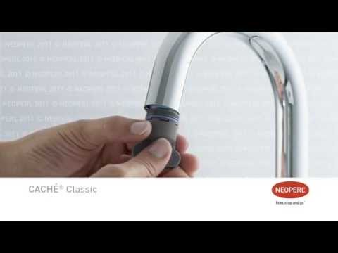 Neoperl Caché Coin Slot Faucet Aerator