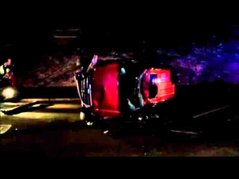 Car Removed After Collision, Nov 1 2015