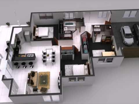 Interactive 3D Floor Plan, 360 Virtual Tours for Home Interior Plan