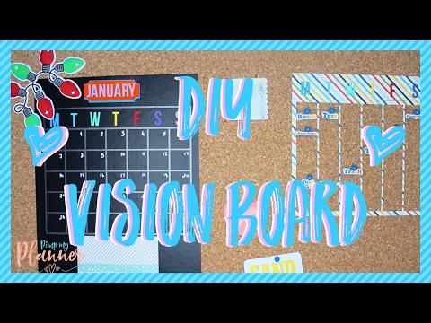 DIY Vision Cork Board - Pimp my Planner ♥
