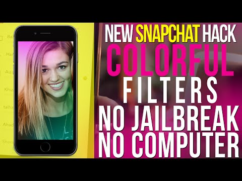 How to Create FREE Custom Colourful Snapchat Filters without Photoshop