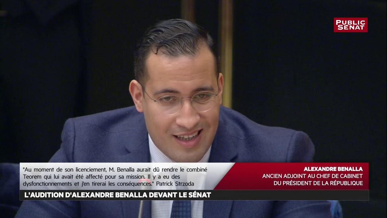 Audition complète d'Alexandre Benalla devant le Sénat