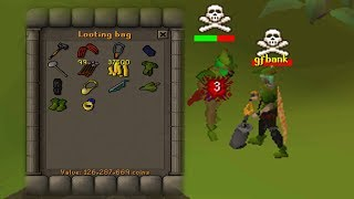 Pretending to be a Looter then 1 HITTING THEM! (SUPRISE