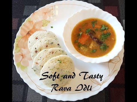 Rava Idli / Instant Idlis (without ENO Fruit Salt)