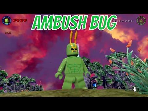 LEGO Batman 3: Beyond Gotham - Ambush Bug Gameplay and Unlock Location