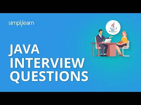 Java Interview Questions and Answers | Java Tutorial For Beginners | Java Tutorial | Simplilearn
