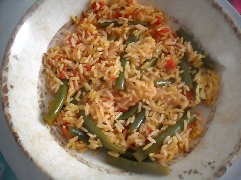 Rice with Green Beans