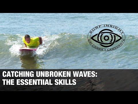 Surf Insight:  Catching Unbroken Waves ,the Essential Skills.
