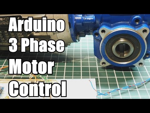 How to control a 3 phase motor using the Arduino Nano