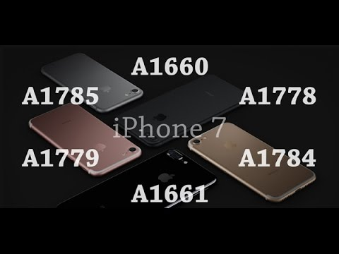 iPhone 7 Model Numbers Explained