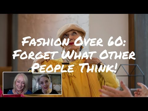 Fashion Over 50: Forget What Others Think and Express Your Eccentricities! | Mel Kobayashi