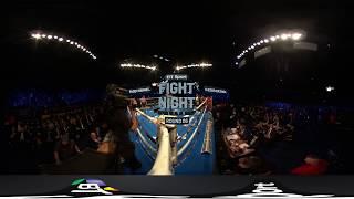 Classy Barnes blows Quezada away   Watch in 360 VR