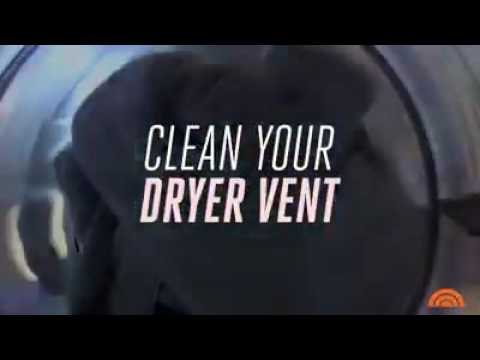 Today Show Clip on Dryer Vent Cleaning