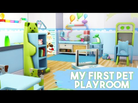 MY FIRST PET PLAYROOM🐹🌈 // THE SIMS 4 | ROOM BUILD – COLLAB WITH TAMARLIEL
