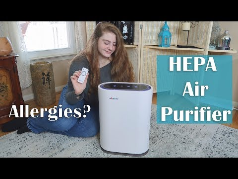 🌼AIR PURIFIER HEPA UV-C  IONIZER  WEBETOP (480 sq ft) Air Cleaner Review - COUPON CODE! 👈