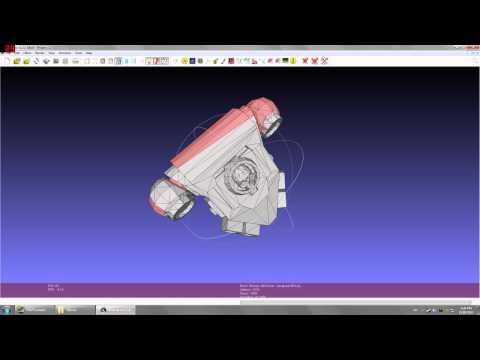Cosplay Space Marine - Pepakura and Meshlab