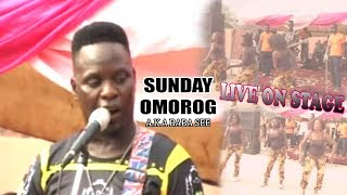 Sunday Omorog (Baba See) Live On Stage ► Benin Music Live On Stage