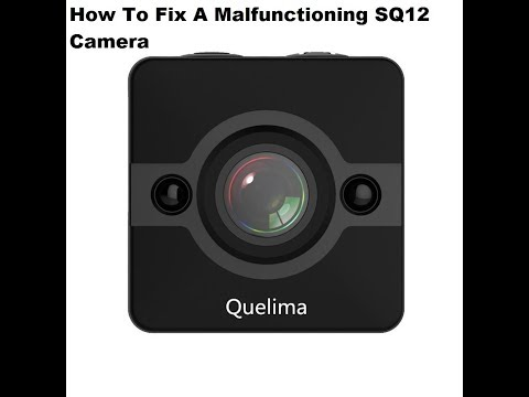 How To Fix And Reset A Malfunctioning SQ12 Mini DV Camera Quick And Easy