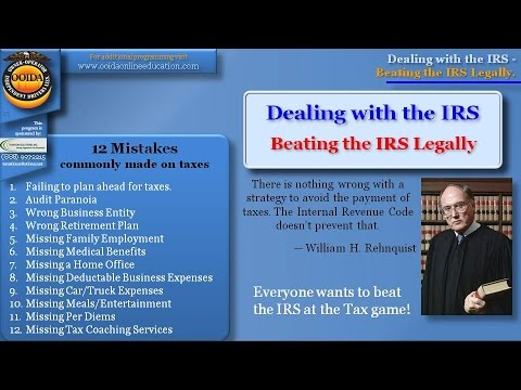 Beating the IRS Legally