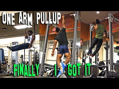 ONE ARM PULLUP ACHIEVEMENT | MOTIVATIONAL VIDEO 2017