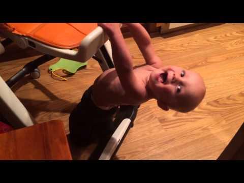 High chair tricks