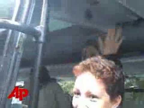 Raw Video: Jenna Bush Visiting Peru