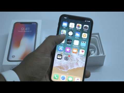 Apple iPhone X Unboxing Video and Quick Review