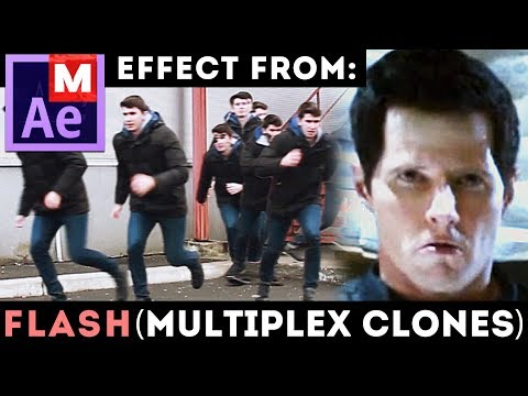 After Effects Tutorial: Flash - Multiplex Clones - Matrix - Agent Smith Clones - Double Roll Cloning