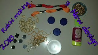 By Madhuris Creation Day How To Make 3 New Design Rakhi From Waste Material Amazing Making Idea
