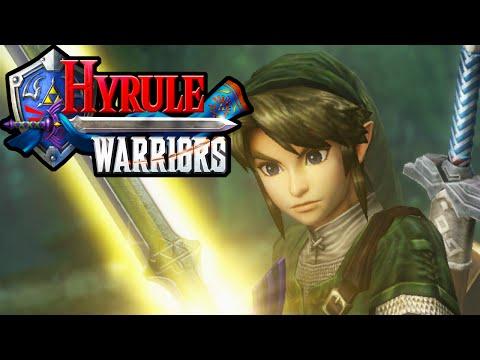 Hyrule Warriors 2 Player Co-Op! Amiibo Spinner Master Sword Zelda HD Gameplay Walkthrough Wii U