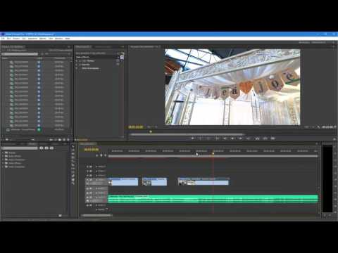 Removing all gaps between video clips on timeline at the same time in Premiere Pro