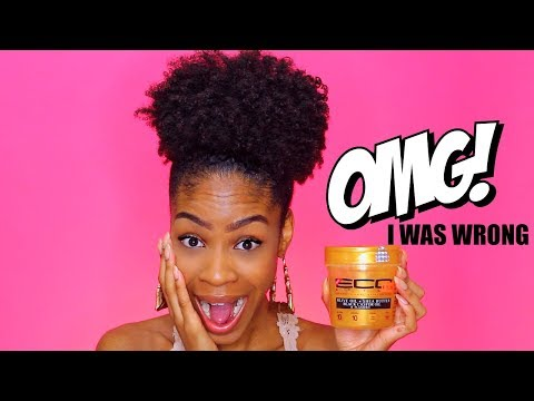 NEW ECO STYLER GOLD GEL REVIEW► 7 days later