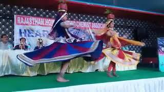 Hahnemann birthday celebration Ghoomar dance