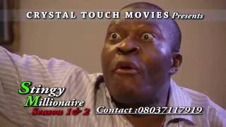 Watch free hot Nigerian Nollywood Movies,Ghallywood Movies in English,Best African Cinema.  The Full Movie ... STINGY MILLIONAIRE SEASON 1 to 4 coming ... Friday 22nd April 2016, Stay close !  See the movie as arranged below ....   STINGY MILLIONAIRE SEASON 1 https://youtu.be/VlFb6Djcc7o  STINGY MILLIONAIRE SEASON 2 https://youtu.be/WKp2s27MFvM  STINGY MILLIONAIRE SEASON 3 https://youtu.be/PtbUZBspFis  STINGY MILLIONAIRE SEASON 4 https://youtu.be/_V_Nu_EAeWo  African Movie, Nigerian Movie, Nollywood Movie  SUBSCRIBE TO OUR CHANNEL AT http://youtube.com/user/nollywoodbest  LIKE US ON http://facebook.com/Nollywoodbest.Nig  FOLLOW US ON http://twitter.com/nollywoodbest  Subscribe to the nollywoodbest NWB Channel for the best of Nollywood Movies. Like us or make your comments below.