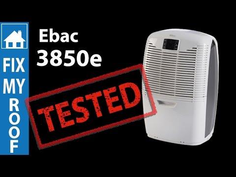 Ebac 3850e Dehumidifier Review & Test