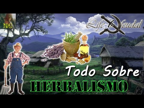 Tutorial Life is Feudal Herbalism - Conseguir Flux y Naphtha
