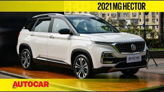 2021 MG Hector and MG Hector Plus 7 seater walkaround | First Look | Autocar India