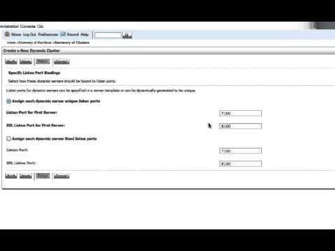 Introducing Dynamic Clusters in Oracle WebLogic Server 12.1.2