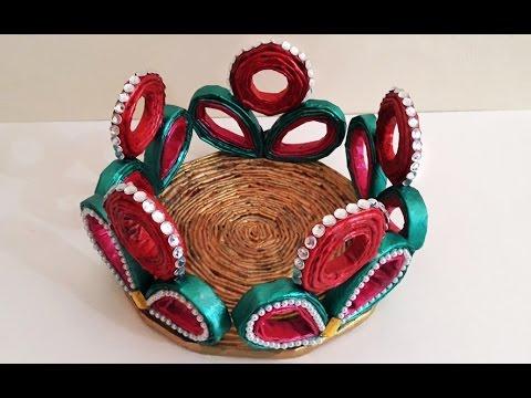 diy crafts how to make foam basket fruit basket art ideas