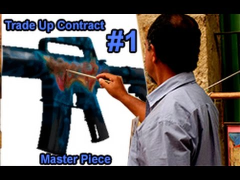 CS GO Trade Up Contract Master Piece