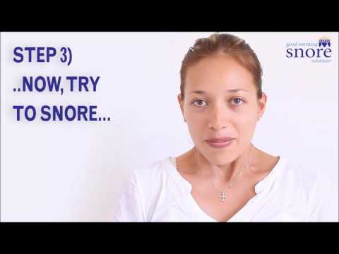 Is Good Morning Snore Solution For Me? Quick Test to Find Out
