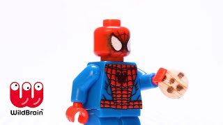 LEGO - Cookie Battle with Star Wars - Spider Man & MORE  | Compilation | WildBrain Kids TV Shows
